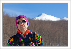 Una foto Prof! (pepe50) Tags: travel winter party mountain snow apple canon flickr imac montagna appennino montegiovo caicarpi lagobaccio pepe50 escursionismoinvernale monterondinaio
