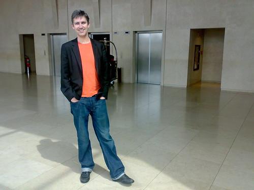 Steven Johnson em São Paulo