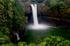 Rainbow Falls (Bev and Steve) Tags: island hawaii big rainbow falls getty hilo waterblur accept submit myexplore abigfave 200802170909