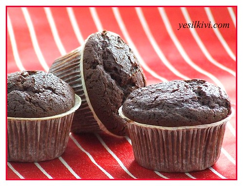 çikolatalı fındıklı muffin