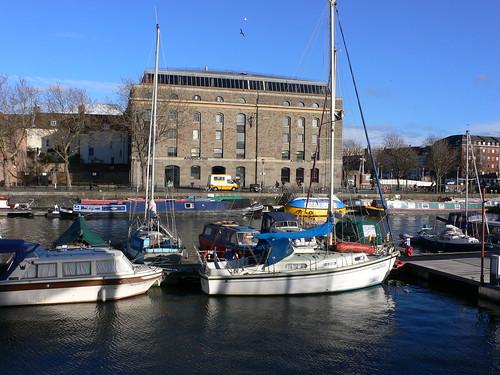 Arnolfini gallery, Bristol docks