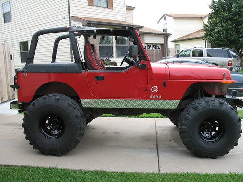 Lifted Jeep Wrangler Yj