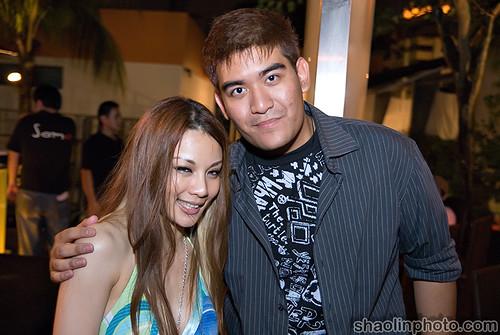 Hannah Tan and Shaz
