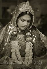 THE SHY BRIDE! @ RETRO MARRIAGE (Akash -Tales from Shining and Sinking India) Tags: wedding india 50mm nikon delhi indian d70s nikkor jaipur palki 18mm akash sharma sanket banerjee upadhaya