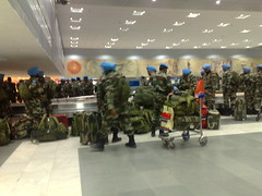 UN Troops in Delhi