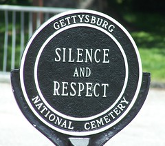 Silence and Respect Gettysburg