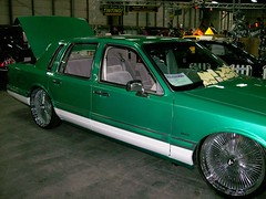 1991 Lincoln Town Car (blondygirl) Tags: car autoshow lincoln 1991 carshow poweramamotorshow 1000ormoreviews