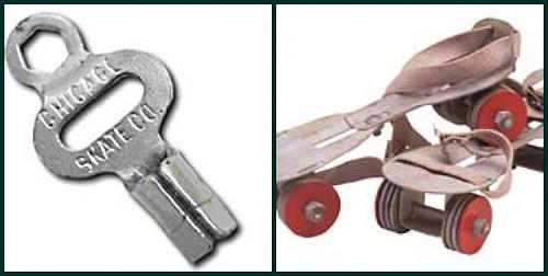 Key and Rollar Skates