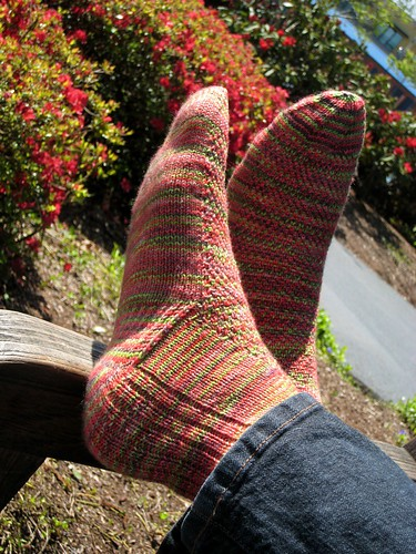 Twisted Sky Socks