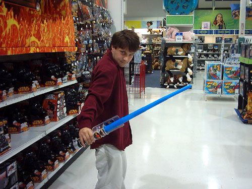 Billy in Toys R Us