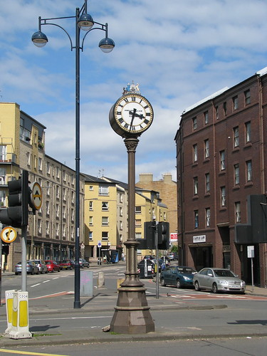 Tick tock, tick tock. The Tollcross Clock is one of Edinburghs instantly recognisable landmarks.