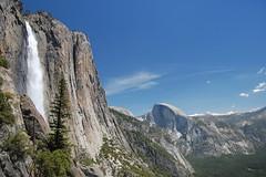 20080518 Upper Yosemite Falls & Half Dome