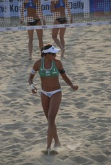 Electrified () Tags: women womens beachvolleyball seoul donne mulheres mujeres femmes nationalteam vrouwen frauen  anapaula  kobiety republicofkorea  fivb eny nationalmannschaft kvinder landslaget  naiset   femei reprezentacija  squadranazionale vleyplaya kvinnor  equiponacional  songpagu  ene   echipanationala  swatchfivbworldtour hangangcitizenspark seoulopen bangidong  2008fivb  voleiboldepraia            lquipenationale nrodntm