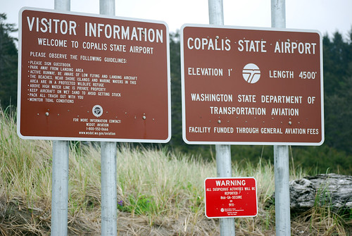 28-Copalis Airport Sign