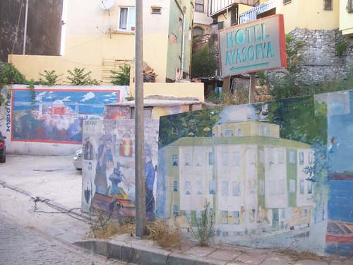 old Stamboul mural