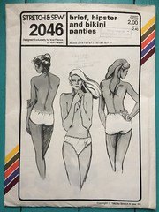 Stretch & Sew 2046 (kittee) Tags: kittee sewing vintagesewing vintage vintagepattern pattern stretchsew stretchsew2046 2046 1982 1980s multisized underwear panties briefs hipster bikini underpinnings lingerie duplicate wouldsell wouldtrade