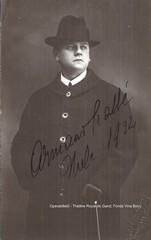 CRABBE, Armand, 1932 (Operabilia) Tags: claudepascalperna opera théâtreroyal gand ghent vinabovy soprano generalmanager opéraroyal baritone armand crabbé operabilia