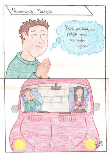 Pensamento Machista. Por Kamilla Silva. by Blog da PP