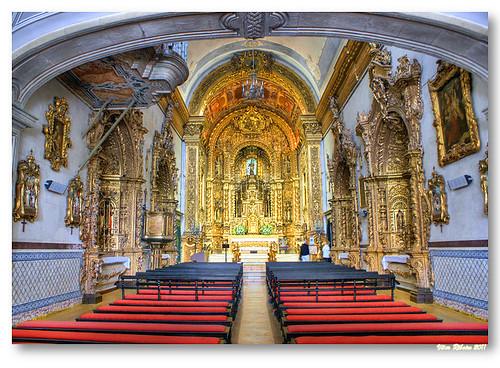 Interior da Igreja do Carmo by VRfoto
