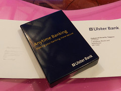 Ulster Bank card-reader