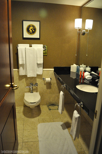 Bathroom in Standard Room at Grand Hotel ~ Minneapolis, MN