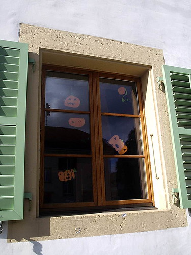 Pumpkin window