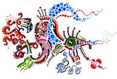 soiD  - monad -  (sanchezdot) Tags: fish flower eye art cat spiral 3d dragon snake render space jazz drawings sketchup 2d monada 44 quetzalcoatl loon quantum transform goku rainbowwarrior jinn alebrije monade monads sumerian nagual monad drako nahual ketzal monadas monism monismo ometeotl draeams impecability sanchezdot ketzalcoatl jazz9ometeotl tachyons artmonad monismart