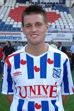 Michael Dingsdag, verdediger en aanvoerder van SC Heerenveen