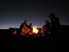 This is what its like to camp with Lee and Ro (Rich in Orderly Manor) Tags: utah monumentvalley