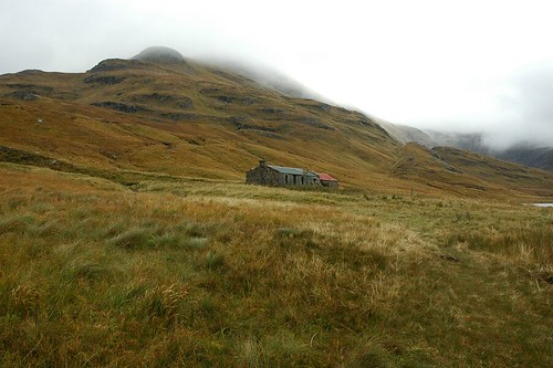 Bothy at Coire Mor