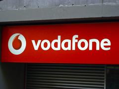 Una tienda Vodafone