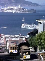 Alcatraz (AntyDiluvian) Tags: sanfrancisco california fog island thecity prison goldengate cablecar sanfran alcatraz sanfranciscobay aim frisco russianhill hydestreet occupation americanindianmovement indiansofalltribes