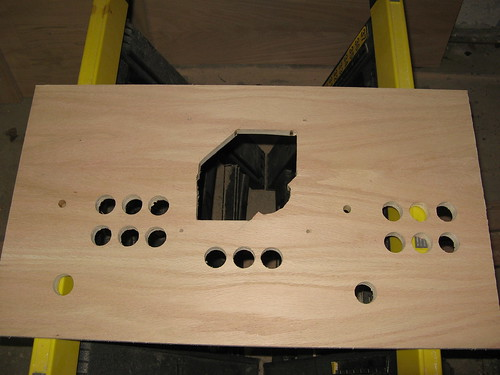 Control Panel: holes complete