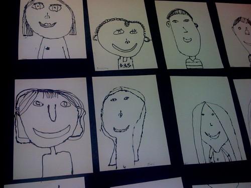 2nd grade portraits...