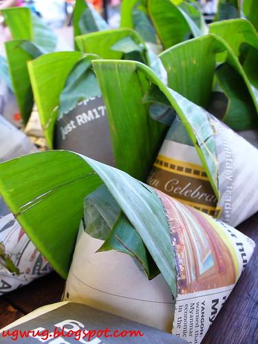 Pre packed Nasi Lemak