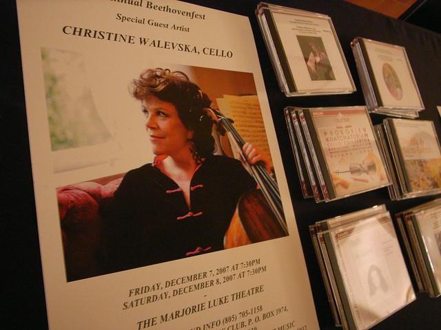 Christine Walevska at Santa Barbara Beethoven Fest