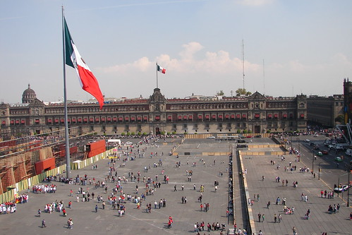 Zócalo, Mexico City by gripso_banana_prune, on Flickr