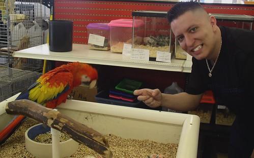Me @ Parrot world