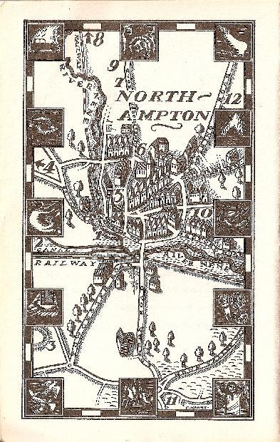 Map of Northampton