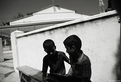 Brother (Hani Amir) Tags: people bw kid friend child brother traditions mosque amir maldives 1870mm hani kurendhoo dudecrush haniamir