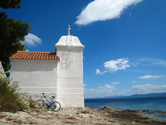 My spot (tashenka) Tags: sea lighthouse beach croatia more bra sumartin svjetionik