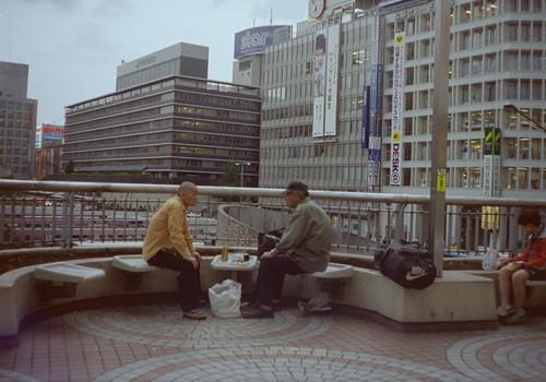 新宿の対談