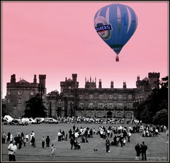 HOT AIR BALOON. KILKENNY, IRELAND. (Edward Dullard Photography. Kilkenny, Ireland.) Tags: kilkenny ireland balloon photographic emeraldisle kilkennycastle dullard blueribbonwinner abigfave platinumphoto edwarddullard societyedward