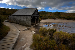Cradle Mountain (7 of 9) (ScottDavis) Tags: mountain lake holiday water canon lens boat wooden dove shed australia tasmania tas tassie hdr cradle dovelake cradlemountain 40d bestofaustralia theunforgettablepictures