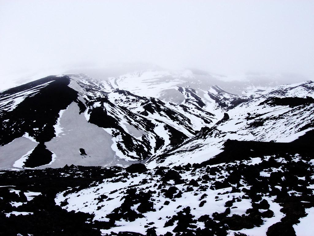 Askja, lava, snow and solitude