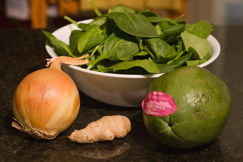 Chicken tinola: ingredients