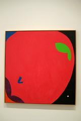 NYC - MoMA: Elizabeth Murray's Southern California (wallyg) Tags: southerncalifornia painting elizabethmurray apple modernart art moma gothamist manhattan nyc newyorkcity newyork museum aia150 museumofmodernart multiplexdirectionsinart1970tonow
