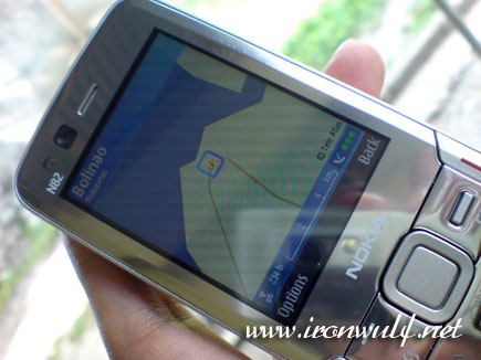 Using GPS and Nokia Maps