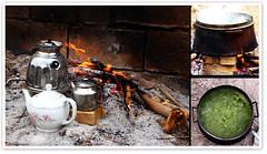 13th Party ! (1Ehsan) Tags: fire iran tea teapot esfahan isfahan norooz nowruz noruz چاي 13bedar آش قوري آشرشته 13بهدر سيزدهبهدر