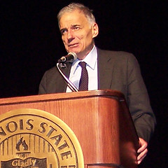 Ralph Nader at ISU, April 14, 2008